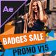 Badges Sale Promo V15