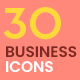 30 Animated Business icons