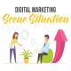 Digital marketing - Scene Situation