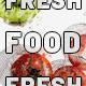 Vegetarian Fresh Food Logo