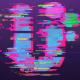 Glitch 3D Strokes Logo