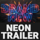 Cinematic Neon Trailer Teaser