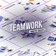 Teamwork - Isometric Concept
