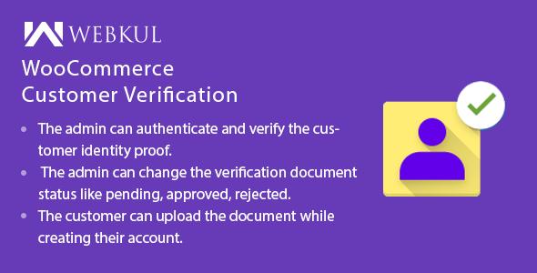 woo custoemer verification