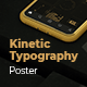 Kinetic Typography Poster