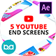 YouTube End Screens | After Effects
