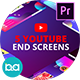 YouTube End Screens Vol.2 | Premiere Pro MOGRT