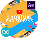 YouTube End Screens Vol.3 | After Effects