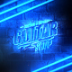 Grunge Neon Logo Reveal