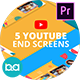 YouTube End Screens Vol.3 | Premiere Pro MOGRT
