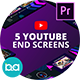 YouTube End Screens Vol.4 | Premiere Pro MOGRT