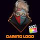 Gaming Glitch Logo Reveal