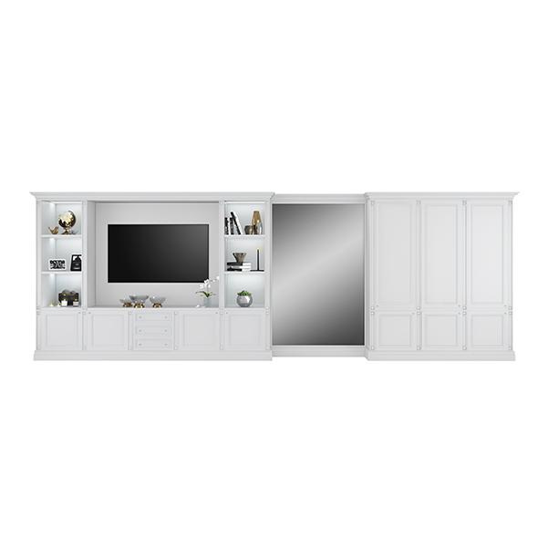 Tv cabinet with wardrobe by FC Shape
