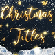 Christmas Gold Titles