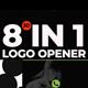 Visuals 3d Logo Opener