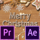 Christmas Cookies Promo - Premiere Pro