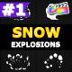 Cartoon Snow Explosions | FCPX