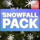 Snowfall Elements   Motion Graphics