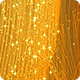 Golden Glitter String Particles Background HD