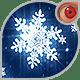 Winter snowflakes loop