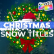 Christmas Snow Titles | FCPX