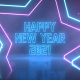 Neon Party New Year Wishes