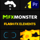 Cartoon Flash FX | Premiere Pro MOGRT