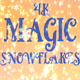 4k Magic Snowflakes