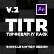TITR | Dynamic Typography Pack