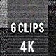 CRT TV Screen Static Noise Pack - 4K