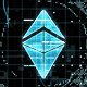 Glitch Map Loading Logo Reveal