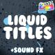 Liquid Titles | FCPX