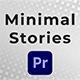 Minimal Stories