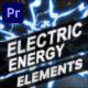 Electric Energy Elements | Premiere Pro MOGRT