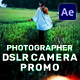 Photographer DSLR Camera Promo