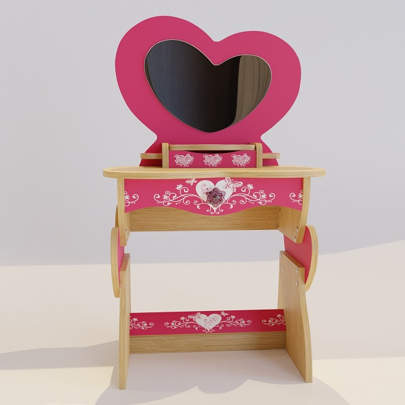Dressing table for girls Princess