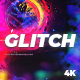 Glitch Logo Super RGB