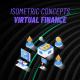Virtual Finance - Isometric Concept