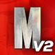 Super Hero Logo Reveal Title V2