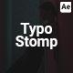 Stomp Typography Promo