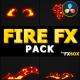 Doodle Fire FX Elements   DaVinci Resolve