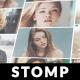 Mosaic Stomp Logo Photo Reveal