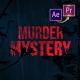 Murder Mystery Suspense Trailer Premiere PRO