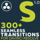 Seamless Transitions for Davinci Resolve