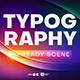 20 Creative Typography Scenes