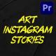 Art Instagram Stories | MOGRT