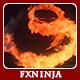 Fire Explosion Logo