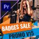 Badges Sale Promo Mogrt 15