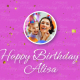 Happy birthday Alisa