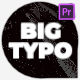 Extraordinary Big Typography